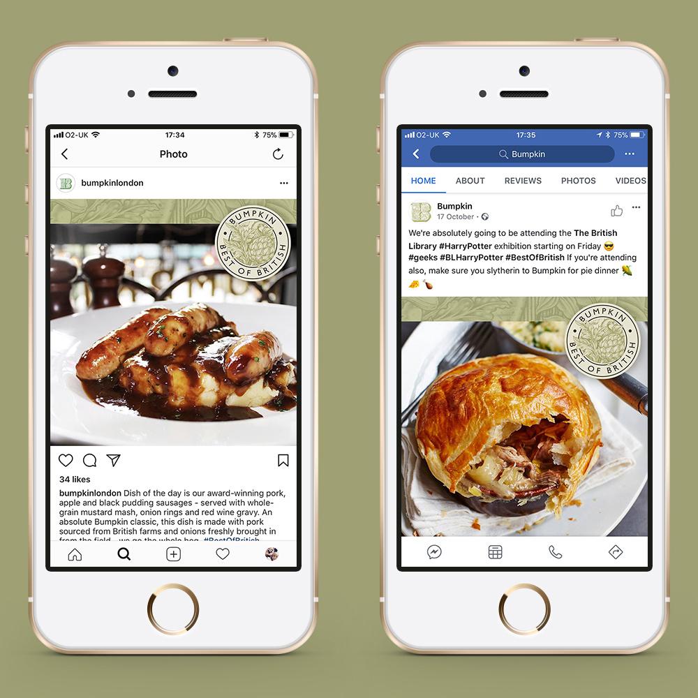 Social Media for restaurant brand
